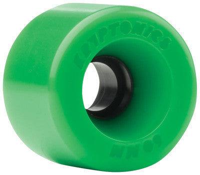 Kryptonics Star Trac - Green - 60mm - Skateboard Wheels (Set of 4)