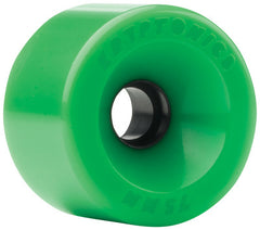 Kryptonics Star Trac - Green - 75mm - Skateboard Wheels (Set of 4)