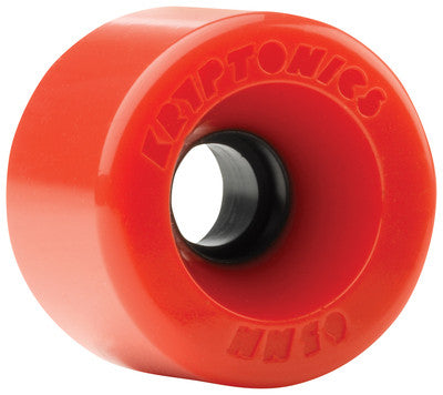 Kryptonics Star Trac - Red - 65mm - Skateboard Wheels (Set of 4)