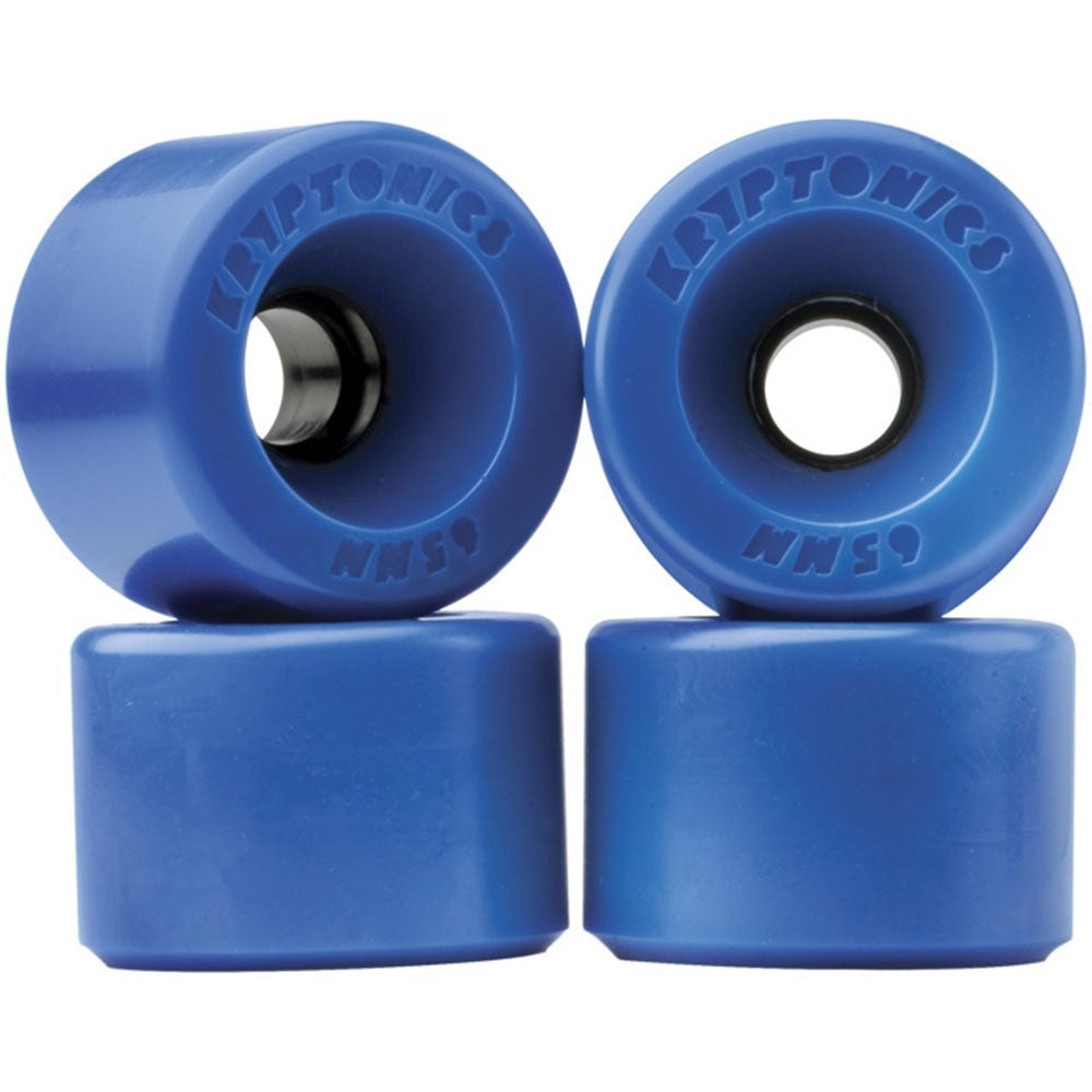 Kryptonics Star Trac - Blue - 55mm - Skateboard Wheels (Set of 4)