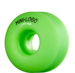Mini Logo C-Cut Wheel - 52mm 101a - Green - Skateboard Wheels (Set of 4)