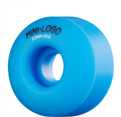 Mini Logo C-Cut Wheel - 53mm 101a - Blue - Skateboard Wheels (Set of 4)