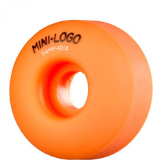 Mini Logo C-Cut Wheel - 54mm 101a - Orange - Skateboard Wheels (Set of 4)