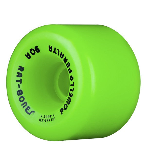 Powell-Peralta Rat Bones - Green - 60mm 90a - Skateboard Wheels (Set of 4)