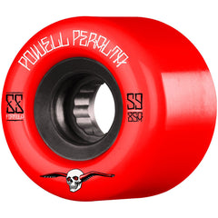 Powell Peralta G-Slides - Red - 59mm 85a - Skateboard Wheels (Set of 4)