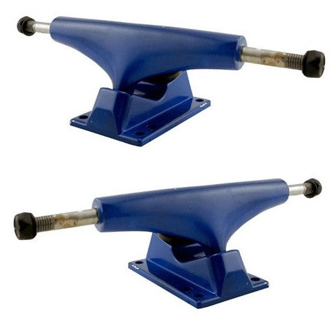Rock On - Blue/Blue - 5.0in - Skateboard Trucks (Set of 2)