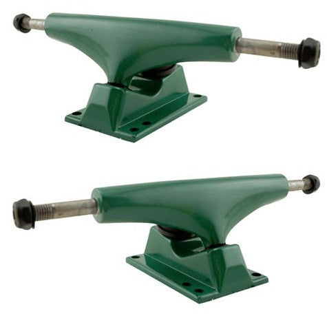 Rock On - Green/Green - 5.0in - Skateboard Trucks (Set of 2)
