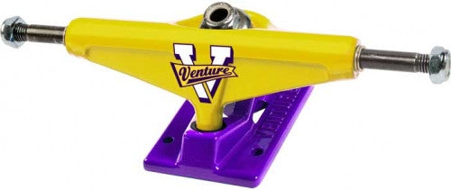 Venture Regional Showtime High - Yellow/Purple - 5.0in - Skateboard Trucks (Set of 2)