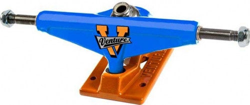 Venture Regional Metro High - Blue/Orange - 5.25in - Skateboard Trucks (Set of 2)