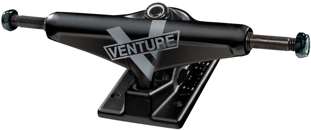 Venture Marquee High - Black/Black - 5.25in - Skateboard Trucks (Set of 2)