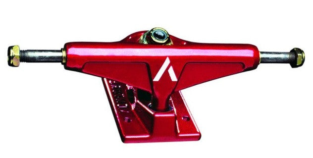 Venture Low - Red/Red - 5.25 - Skateboard Trucks (Set of 2)
