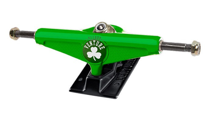 Venture PJ Ladd Ringer 2 V-Light High - Kelly Green/Forged Black - 5.0 - Skateboard Trucks (Set of 2)