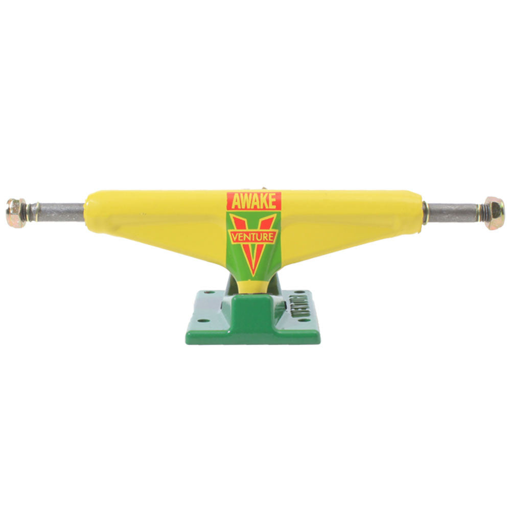 Venture OG Awake Low - Yellow/Green - 5.2 - Skateboard Trucks (Set of 2)