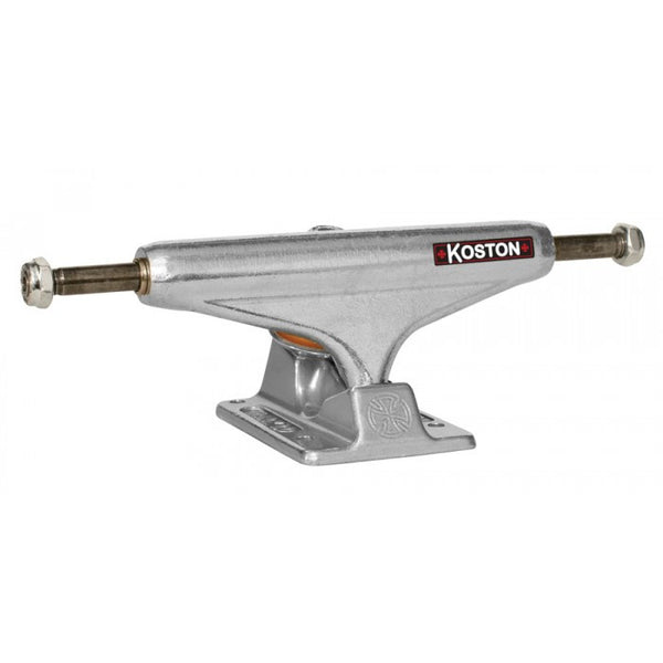 Independent 129 Koston Stage 10 Forged Hollow - Silver/Silver - 127mm - Skateboard Trucks (Set of 2)