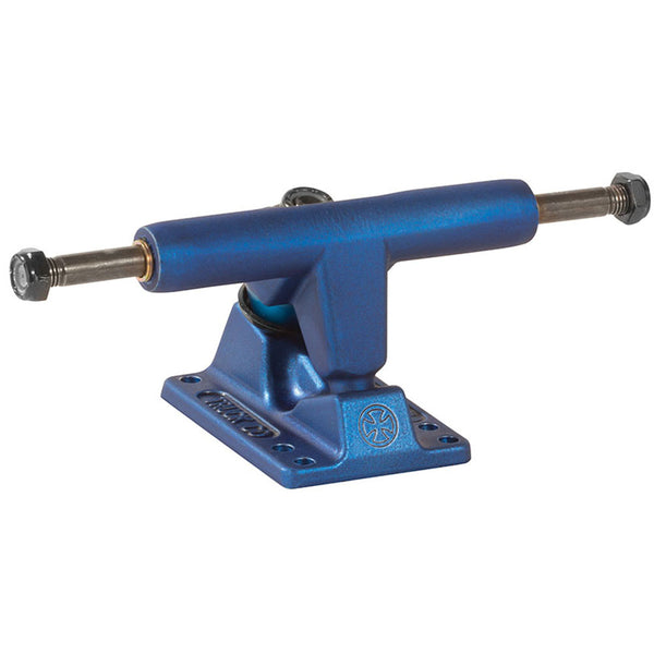 Independent 109 Stage 11 T-Hanger Ano Series - Sapphire Blue - 109mm - Skateboard Trucks (Set of 2)
