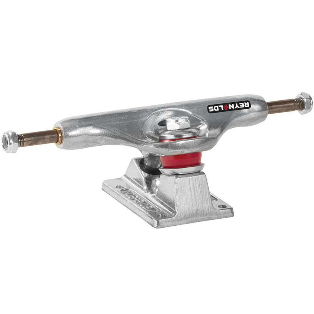 Independent 139 Stage 11 Reynolds II GC Hollow Baker Low - Silver/Silver - Skateboard Trucks (Set of 2)