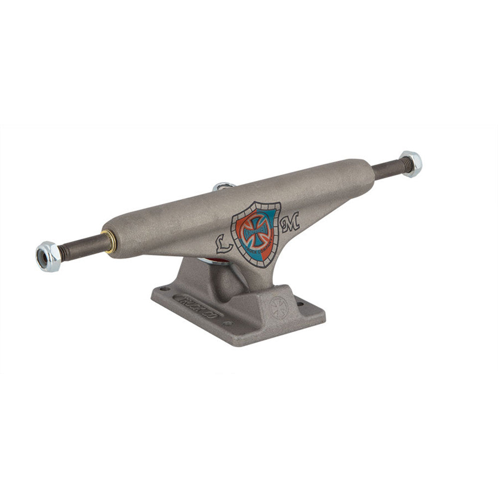 Independent 169 Stage 11 Mountain Hollow Standard - Raw/Pewter - Skateboard Trucks (Set of 2)