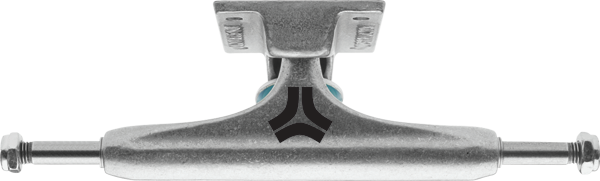 Destructo Raw Mid - Silver/Silver - 5.5in - Skateboard Trucks (Set of 2)
