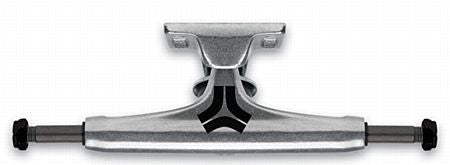 Destructo Raw Mid - Silver/Silver - 5.25in - Skateboard Trucks (Set of 2)