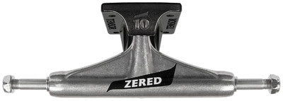 Tensor Aluminum Vex Zered Bassett - Raw/Black - 5.25 - Skateboard Trucks (Set of 2)