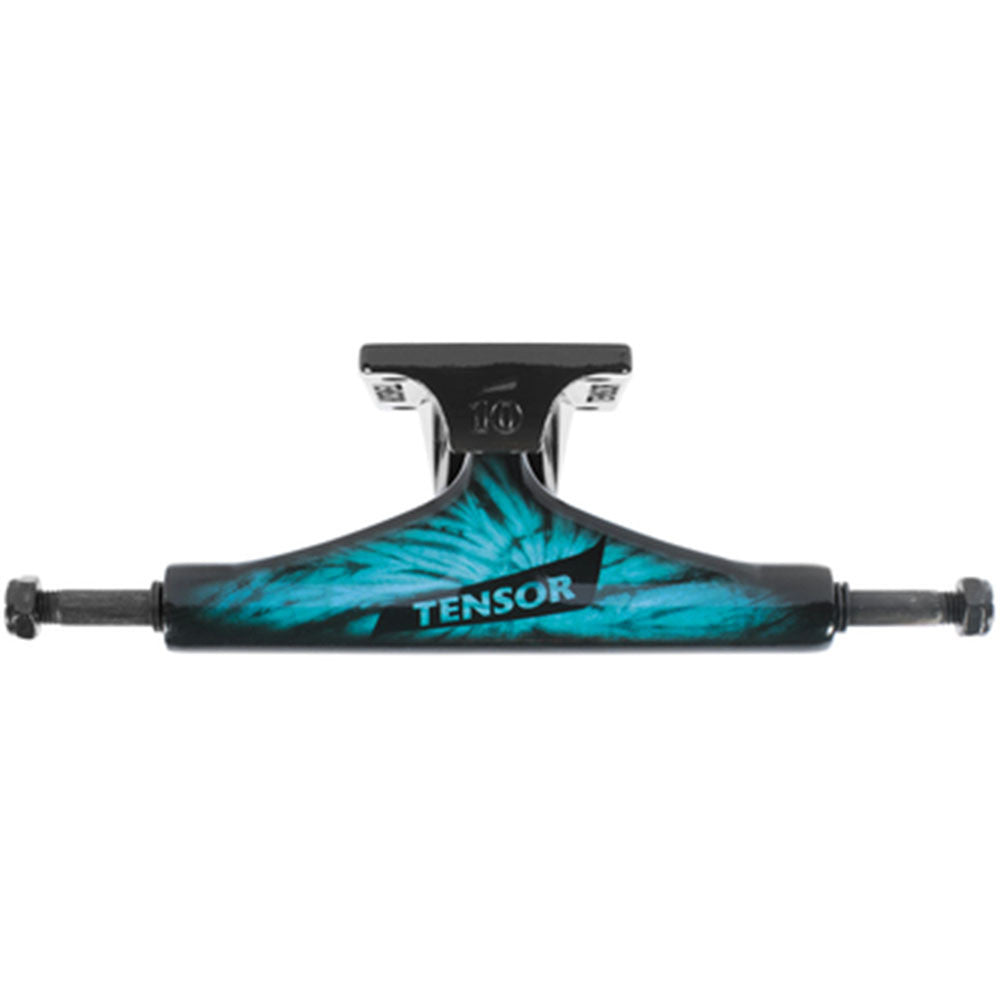 Tensor Aluminum Regular Tens Tie Dye - Tie-Dye/Blue - 5.5in - Skateboard Trucks (Set of 2)