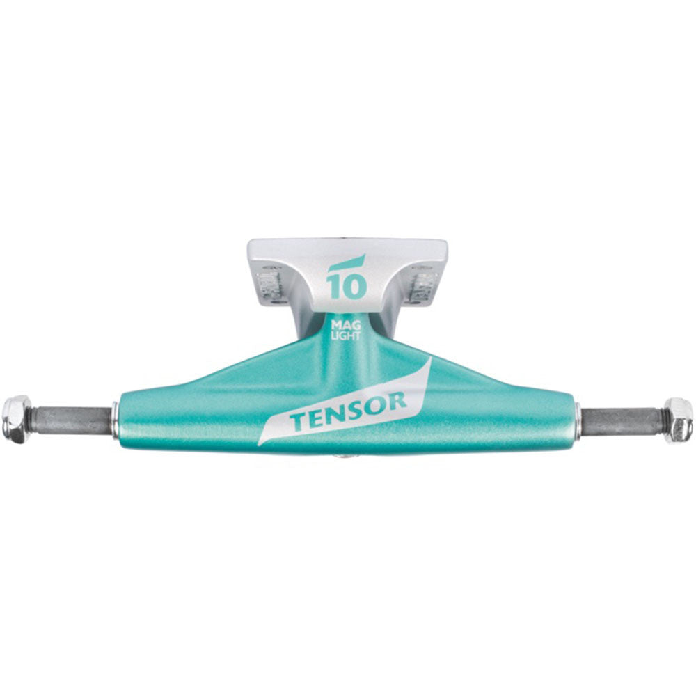 Tensor Magnesium Light Low Flick - Ice Blue/Silver - 5.25 - Skateboard Trucks (Set of 2)