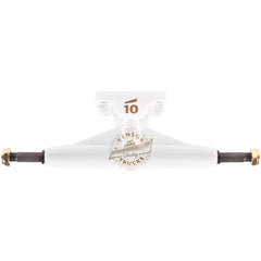 Tensor Quality Seal Low - White/White/Gold - 5.5 - Skateboard Trucks (Set of 2)
