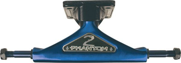 Phantom 2 - Blue/Black - 7.75in - Skateboard Trucks (Set of 2)