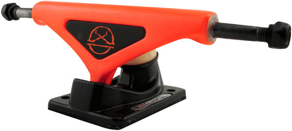 Phantom 2 - Fluorescent Orange - 8.0in - Skateboard Trucks (Set of 2)