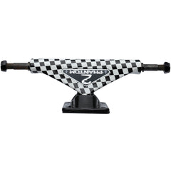 Phantom 2 Checker - Black/White - 7.75in - Skateboard Trucks (Set of 2)