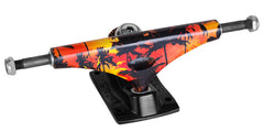 Krux 3.5 Mahollow Magnum Downlow - Red/Black - 5.0in - Skateboard Trucks (Set of 2)