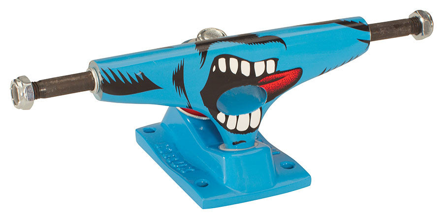 Krux 5.0 Screaming Tall - Blue/Blue - 5.8in - Skateboard Trucks (Set of 2)