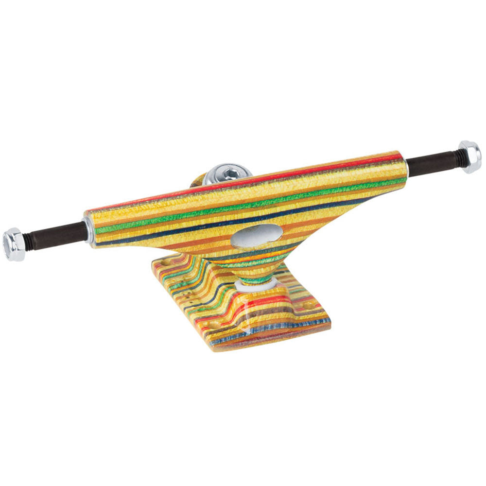 Krux 8.0 Yes Comply Forged Hollow Standard - Multi - 5.35in - Skateboard Trucks (Set of 2)