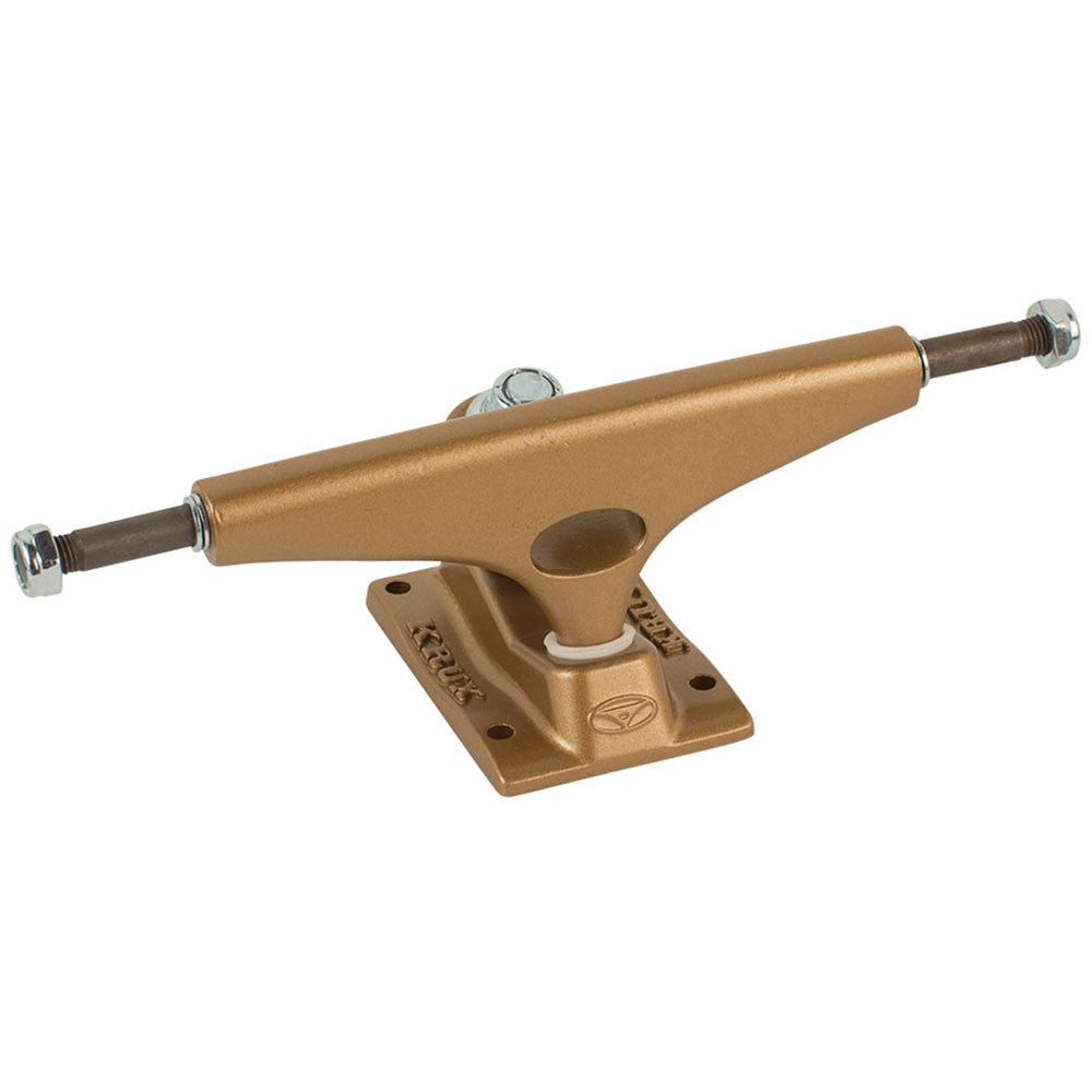 Krux 8.25 K4 Standard - Gold - 5.625in - Skateboard Trucks (Set of 2)