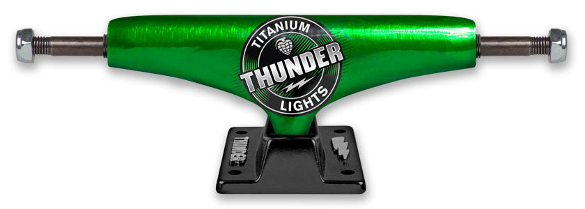 Thunder Titanium 2 Mars High - Green/Black - 145mm - Skateboard Trucks (Set of 2)