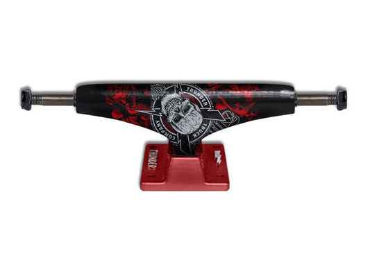 Thunder Por Vida High - Black/Red - 145mm - Skateboard Trucks (Set of 2)