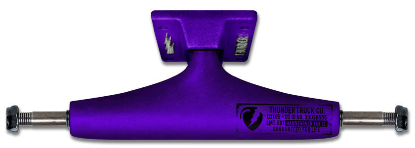 Thunder Factory Dips High - Purple/Purple - 147mm - Skateboard Trucks (Set of 2)