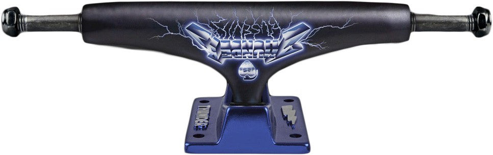 Thunder Busenitz Ride Hollow Light High - Black/Blue - 147mm - Skateboard Trucks (Set of 2)