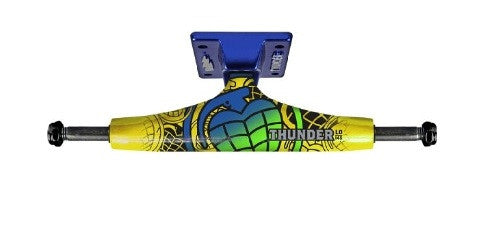 Thunder Commando Lights Low - Yellow/Blue - 145mm - Skateboard Trucks (Set of 2)