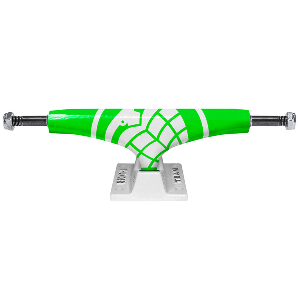 Thunder Crusher High - Green/White - 145mm - Skateboard Trucks (Set of 2)