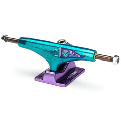 Thunder T-Light Malto Pennant High - Teal/Purple - 145mm - Skateboard Trucks (Set of 2)