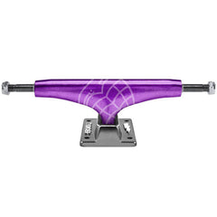Thunder High Lights - Purple/Grey - 149mm - Skateboard Trucks (Set of 2)