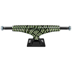 Thunder Paranoia Lights High - Green/Black - 145mm - Skateboard Trucks (Set of 2)