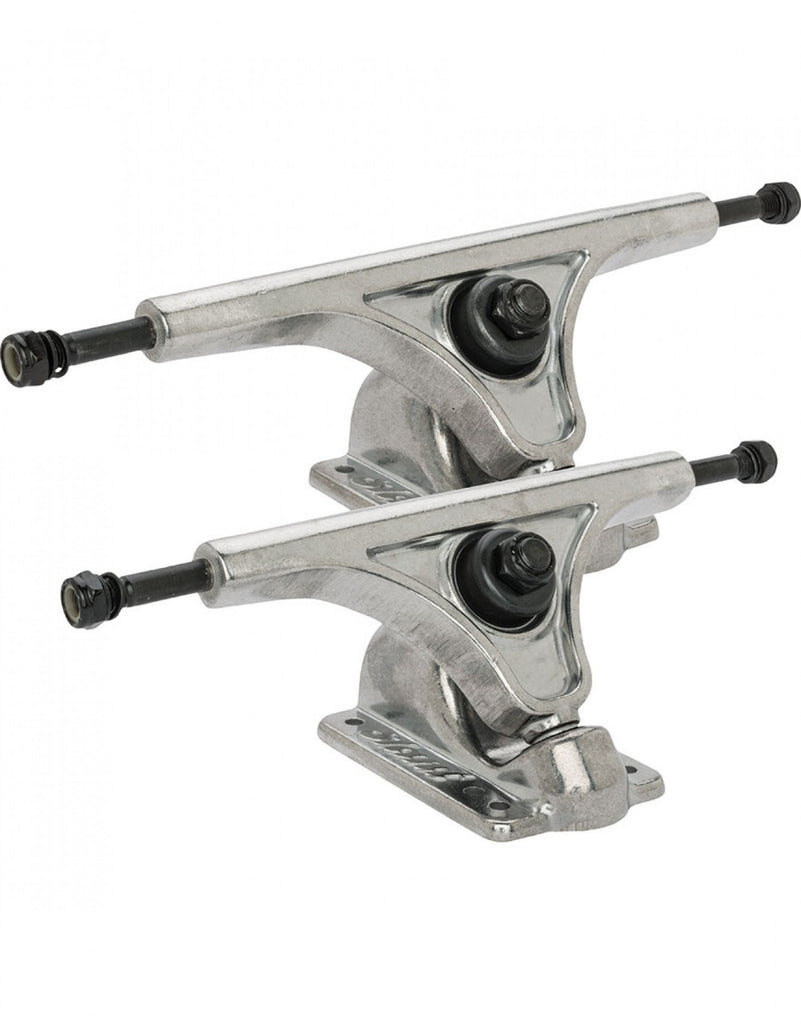 Globe Slant Reverse Kingpin - Raw/Raw - 150mm - Skateboard Trucks (Set of 2)