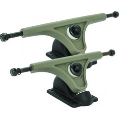 Globe Slant Magnesium Reverse Kingpin - Grey/Black - 150mm - Skateboard Trucks (Set of 2)