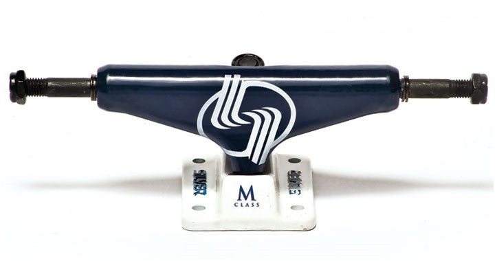 Silver M Class - Blue - 7.5in - Skateboard Trucks (Set of 2)