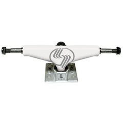 Silver L Class - White/Raw - 8.25in - Skateboard Trucks (Set of 2)