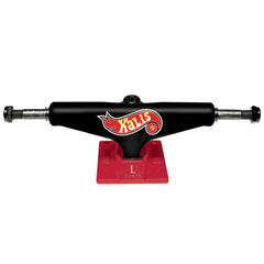 Silver L Class Pro Kalis - Black/Red - 7.75in - Skateboard Trucks (Set of 2)