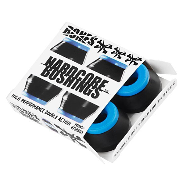 Bones Bushings Hardcore #2 - Black - Soft - Skateboard Bushings (4 PC)