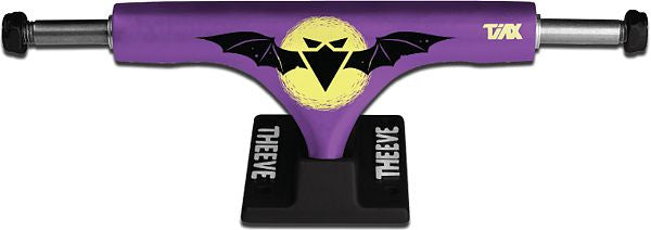 Theeve CSX (V2) - Purple/Black - 5.0in - Skateboard Trucks (Set of 2)